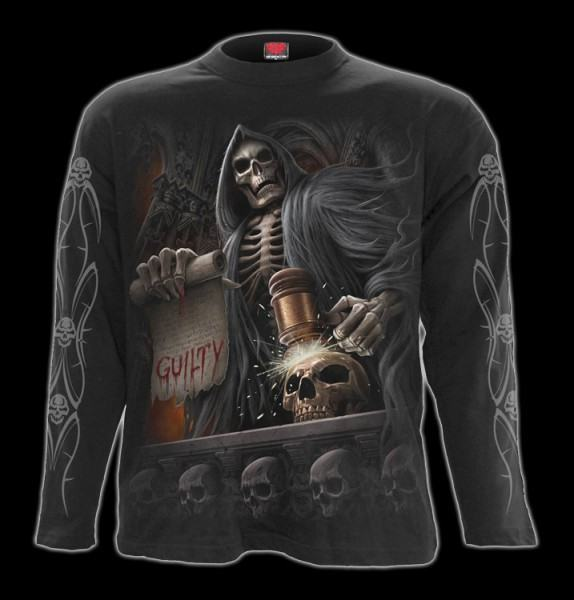 Langarmshirt - Skelett Richter - Judge Reaper
