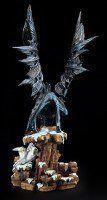 Dragon Figurine - Dragons Wisdom - Snow
