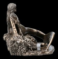 Meerjungfrauen Figur - Sirens Lament bronziert