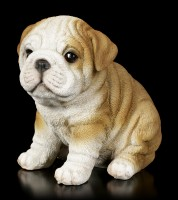 Dog Figurine - Bulldog Puppy