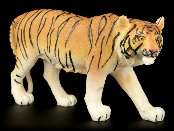 Tiger Figurine - Walking Medium