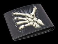 Men's Wallet with Skeleton Hand - Death Grip