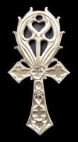 Alchemy Hand Mirror - Gothic Ankh