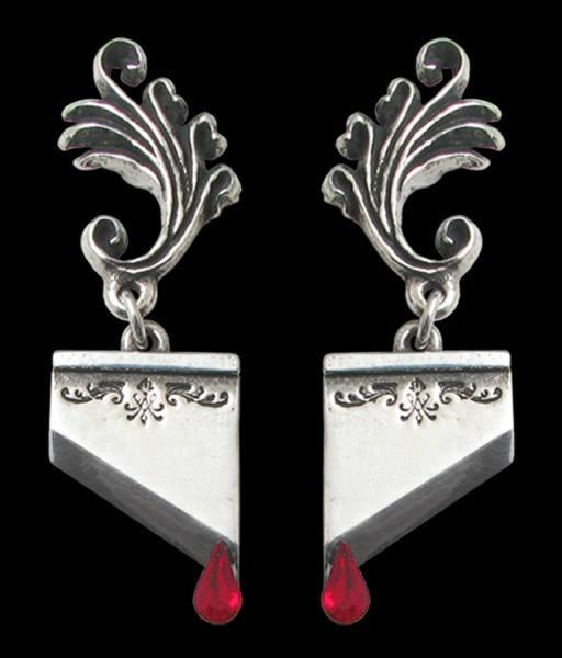 Marie Antoinette - Alchemy Gothic Earrings