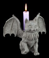 Candle Holder - Bat Cat