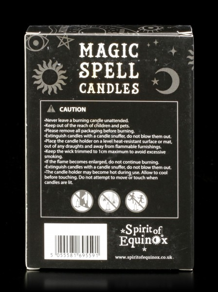 Magic Black Candles - Protection