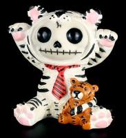 Furry Bones Figur - Tiger White Tigrrr