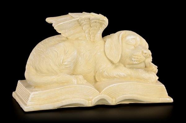 Hunde Engel Figur - In Gedenken an einen Freund