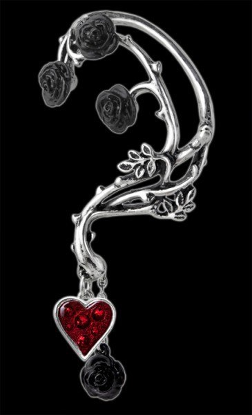 Bed Of Blood Roses - Alchemy Gothic Ear Wrap - left