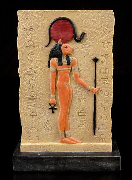 Egyptian Plaque Stand Sekhmet