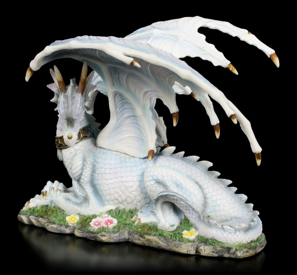 Colored Dragon Figurine with Neckband