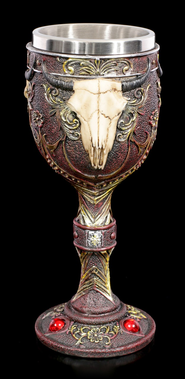 Goblet - Bulls Head with Ornaments