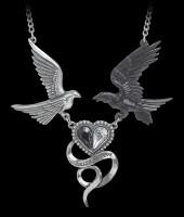 Alchemy Raben Herz Halskette - Epiphany Of St. Corvus