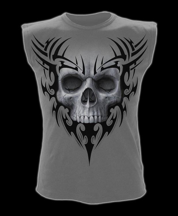Solemn Skull - Sleeveless Shirt