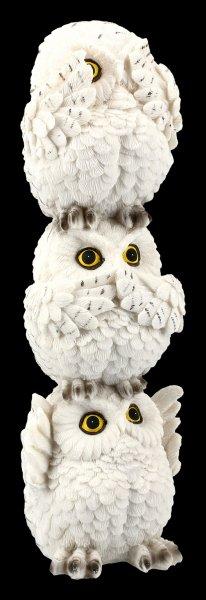 Wise Owl Totem Figurine