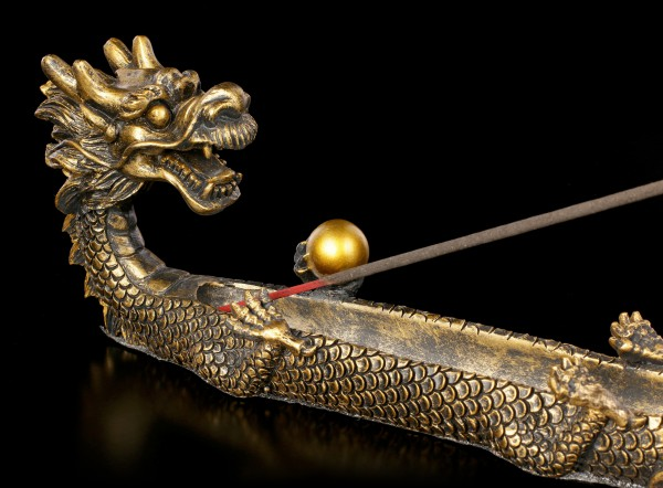 Incense Stick Holder - Feng Shui Dragon