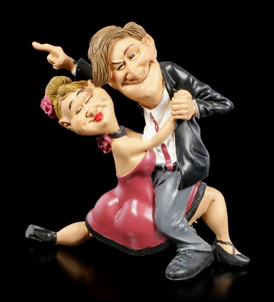 Funny Sports Figurine - Dance Couple with a will to win