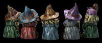 Lustige Hexen Figuren 5er Set