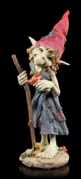 Pixie Figur - Mädchen mit Pilz