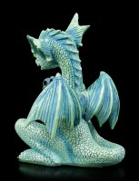 Dragon Figurine in Cage - Turquoise Pet