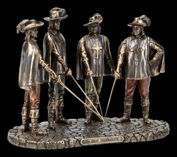 Die drei Musketiere Figur
