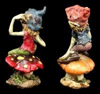 Pixie Figuren - Spaß auf Pilzen - 2er Set