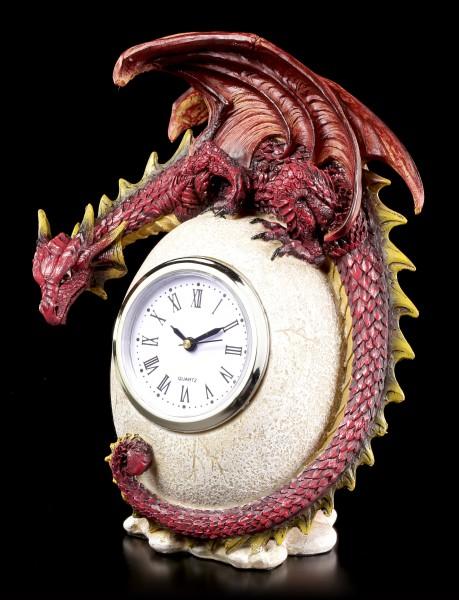 Drachen Tischuhr - Timeless Guardian