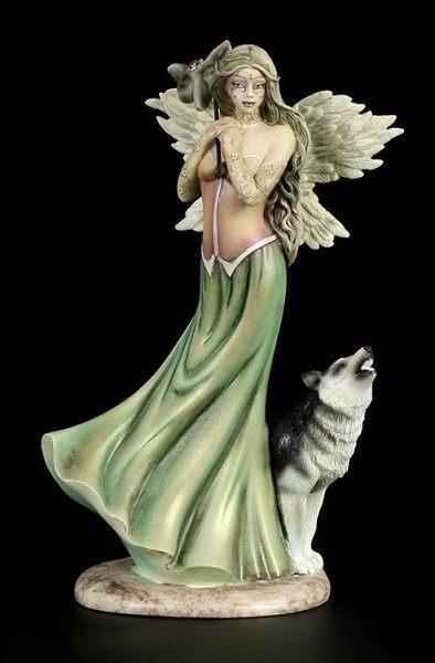Engel Figur - Winter Woods by Jessica Galbreth - limitiert