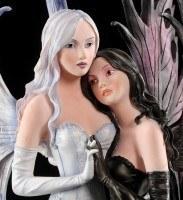 Elfen Figur - Zwillingsschwestern