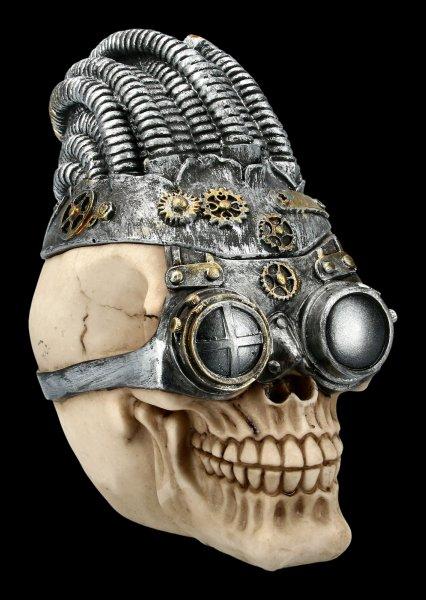 Skull Box - Steampunk Rasta