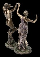 Pan Figurine is Dancing with a Nymph