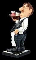 Funny Job Figur - Kellner mit Tablet