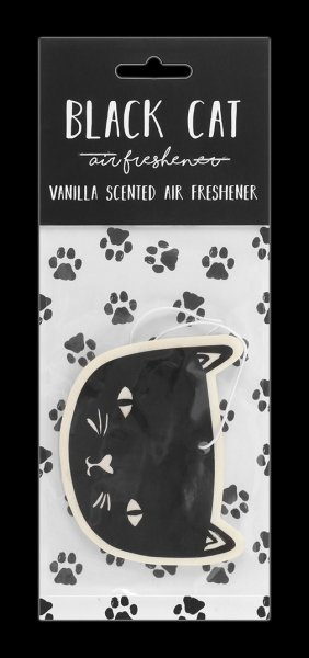 Black Cat Air Freshener - Vanilla