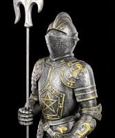 Ritter Figur - Modred mit Pentagramm