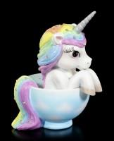 Unicorn Figurine in Cup - Cutiecorn