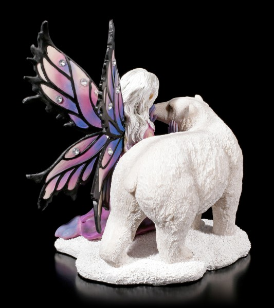 Fairy Figurine with Gemstones - Eria with Ice Bear