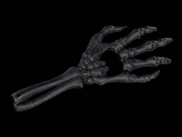 Alchemy Flaschenöffner - Skeletthand schwarz