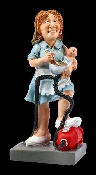 Funny Jobs Figurine - Housewife Full Time Job