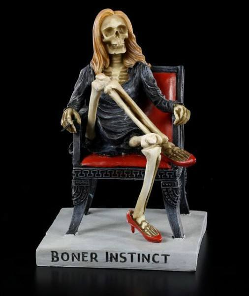 Skeleton Figurine - Boner Instinct