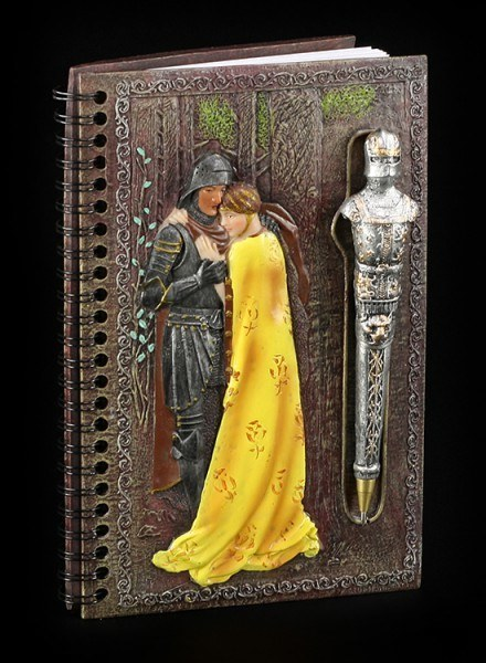 Ritter Notizbuch mit Kugelschreiber - Lancelot