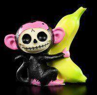 Furry Bones Figur - Black Munky