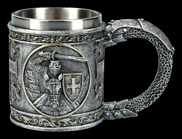 Knight Tankard - Crusader on Horse
