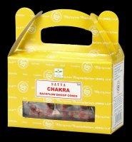 Backflow Incense Cones - Chakra by Satya