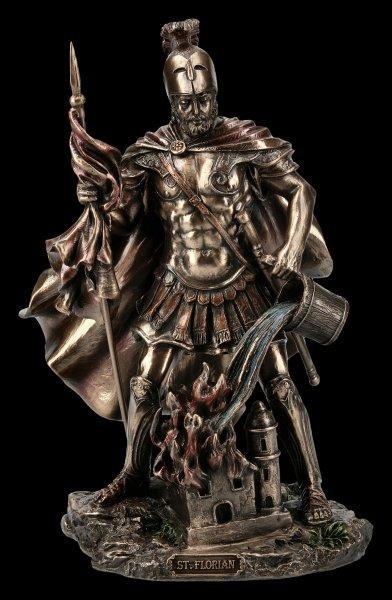 Heiliger Florian Figur - Schutzpatron der Feuerwehr