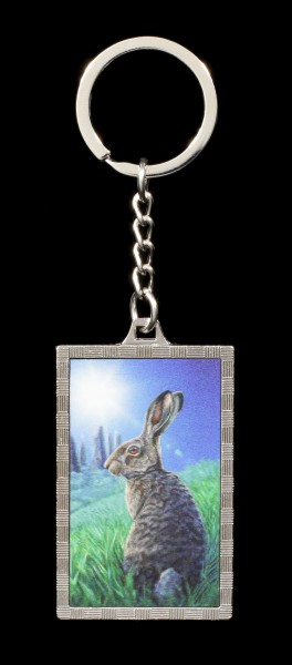 3D Keyring with Hare - Solstice