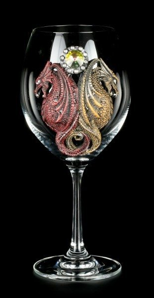 Drachen Weinglas - Heiliger Kelch