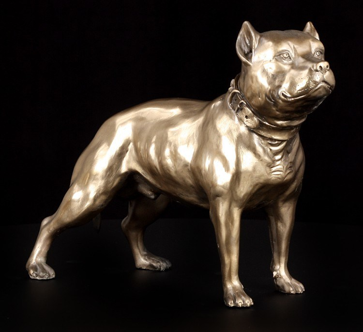 Dog Figure - Pit Bull Terrier