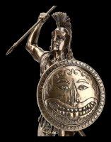 Ajax der Große - Figur mit Speer und Schild