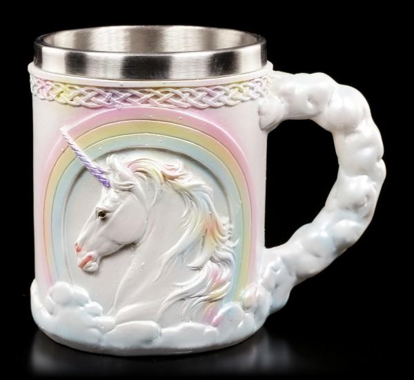 Unicorn Tankard - Rainbow