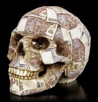 Totenkopf Spardose - Euros